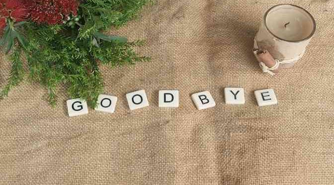 Short Prose – Theme: Good-Bye?